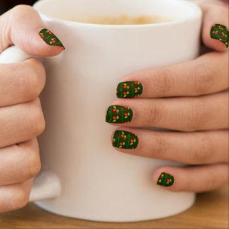 Plant en bloemen minx nail folie