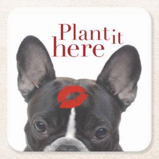 """""""Plant het hier"""" document onderzetters"""