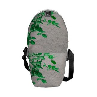 Plant over de Foto van de Muur Courier Bags