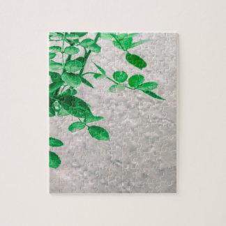 Plant over de Foto van de Muur Legpuzzel
