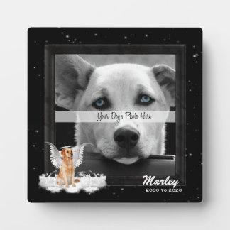 Plaque van de Foto van het Huisdier van de Hond Fotoplaat