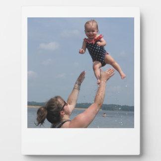 Plaque van Kathleen in de lucht Fotoplaat
