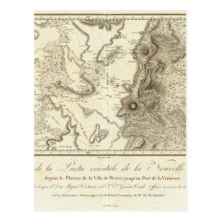 Plateau van Mexico-City Briefkaart