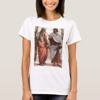 Plato en Aristoteles T Shirt
