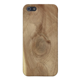 Plattelander van de Textuur van de ceder de Hout iPhone 5 Hoesje