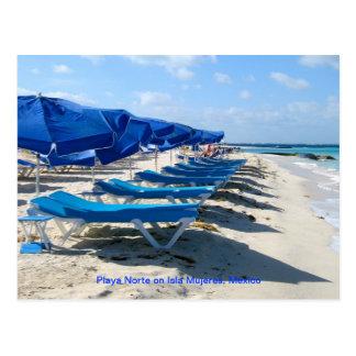 Playa Norte, Isla Mujeres, Mexico Briefkaart