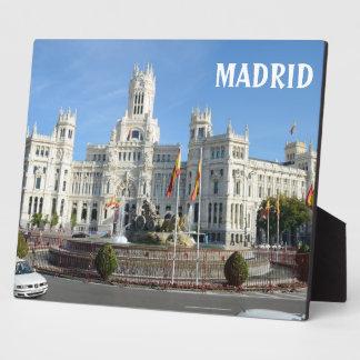 Plaza DE Cibeles, Madrid Fotoplaat