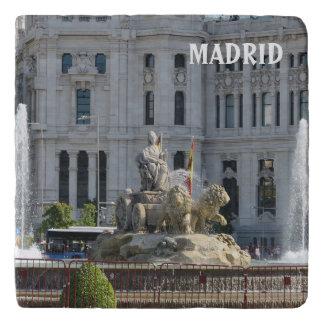 Plaza DE Cibeles, Madrid Trivet