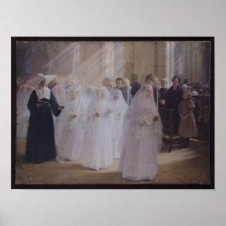 Plechtige Heilige Communie Poster