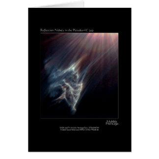 Pleiades IC 349 de Foto van de Telescoop van Briefkaarten 0