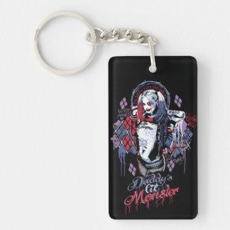 Ploeg | Harley Quinn Geïnkte Graffiti van de Sleutelhanger