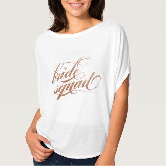 Ploeg van de bruid NAM de GOUDEN gift van de T Shirt