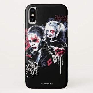 Ploeg   van de zelfmoord Joker & Harley iPhone X Hoesje