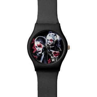 Ploeg | van de zelfmoord Joker & Harley Polshorloge