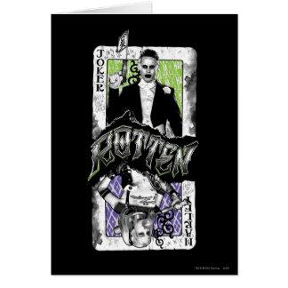 Ploeg | van de zelfmoord Rotte Joker & Harley Briefkaarten 0