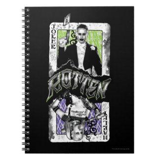 Ploeg | van de zelfmoord Rotte Joker & Harley Ringband Notitieboek