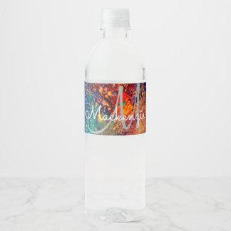 Ploeter Psychedelische Samenvatting van de Waterfles Etiket