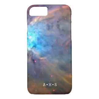 Plons van de supernova paste Initialen aan iPhone 7 Hoesje