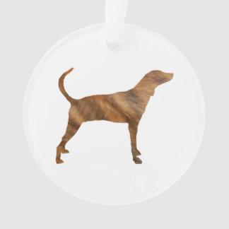 plott hond getijgerde silhouette.png ornament