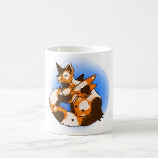 Pluizig Land Koi Koffiemok