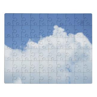 Pluizige Witte Wolken