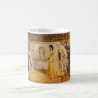 Pocahontas bij het Hof van Koning James door Koffiemok