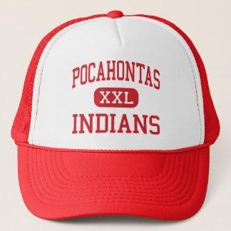 Pocahontas - Indiërs - Gebied - Pocahontas Iowa Trucker Pet