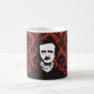 Poe de Victoriaans mok van het Behang - rood