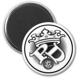 Poe Dis de Witte Magneet van het Logo