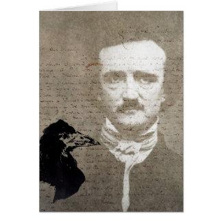 Poe en de Digitale Kunst van Grunge van de Raaf, Kaart