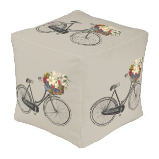 poef van het de fiets de leuke decor van de
