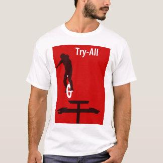 Poging-allen unicycle (Graham Burnett) T Shirt