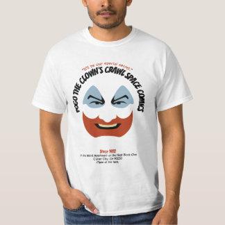 Pogo de Clown kruipt RuimteStrippagina T Shirt