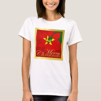 Poinsettia T Shirt
