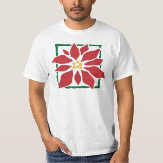 Poinsettia T Shirt
