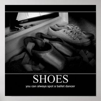 pointe schoenposter 1 poster