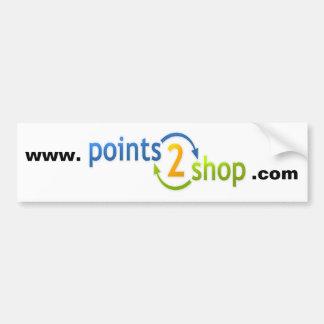 points2shop bumpersticker