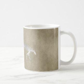 polacanthus skelet koffiemok