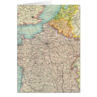 Politiek Frankrijk, België & Holland Kaart
