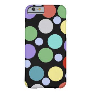 polka gestippelde kleuren barely there iPhone 6 hoesje