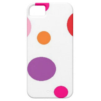 polkadots barely there iPhone 5 hoesje