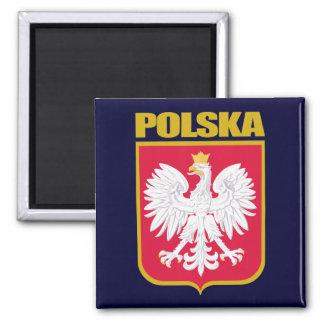 Polska (Polen) COA Vierkante Magneet