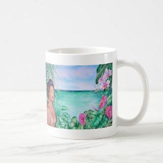 Polynesiër in Paradijs Koffiemok