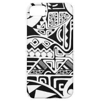 Polynesisch het tattooontwerp stammen van de barely there iPhone 5 hoesje