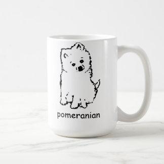 pomeranian koffiemok