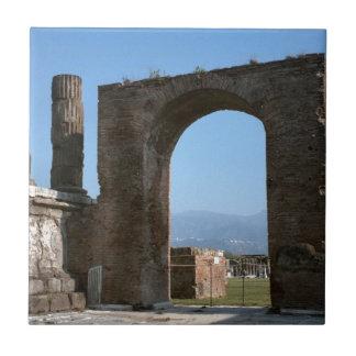 Pompei, archeologische plaats tegeltje