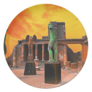 Pompei Italië Melamine+bord