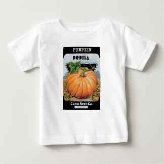 pompoen zaden baby t shirts