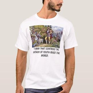 Ponce, het man dat de fontein van yo… t shirt