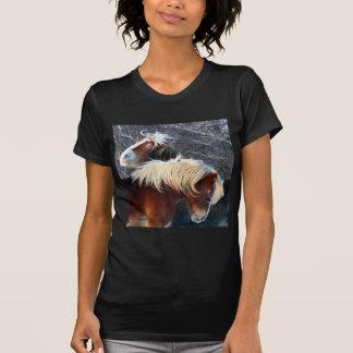 poneys t shirt